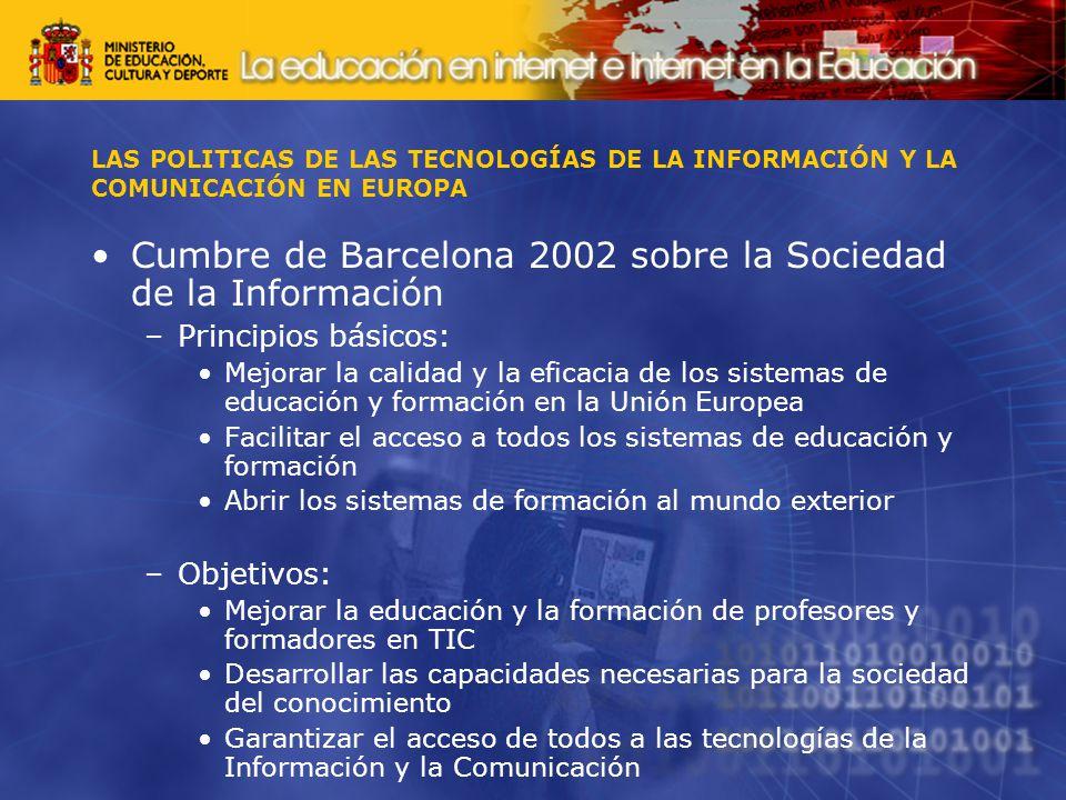Cumbre de Barcelona 2002 sobre la Sociedad de la Información