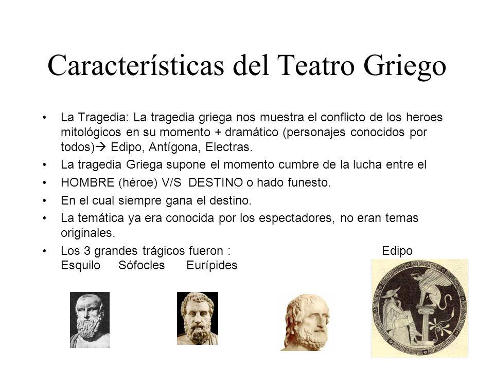 Características del Teatro Griego