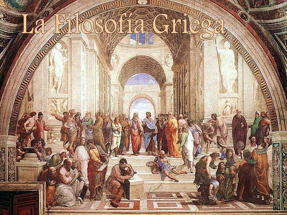 La Filosofía Griega