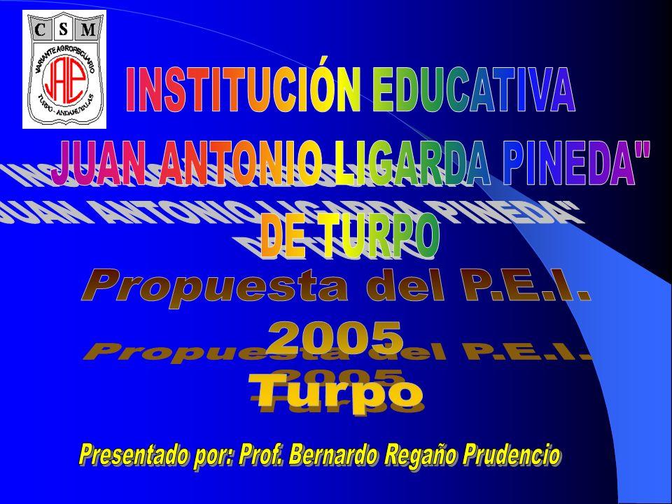 INSTITUCIÓN EDUCATIVA JUAN ANTONIO LIGARDA PINEDA DE TURPO