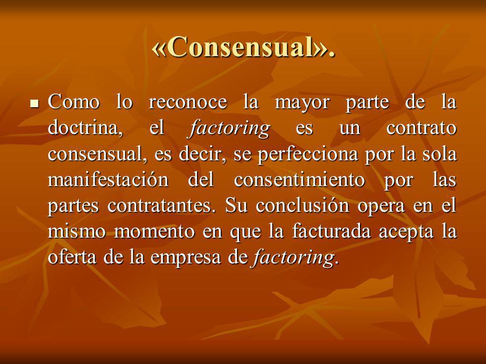 «Consensual».