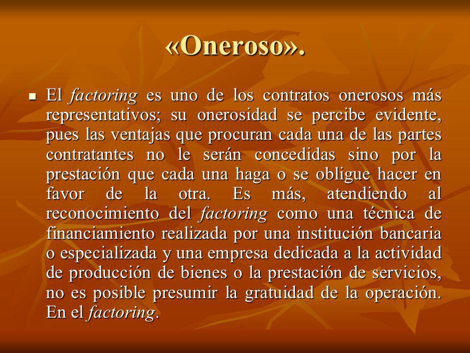 «Oneroso».