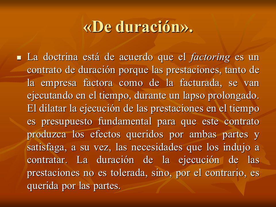 «De duración».