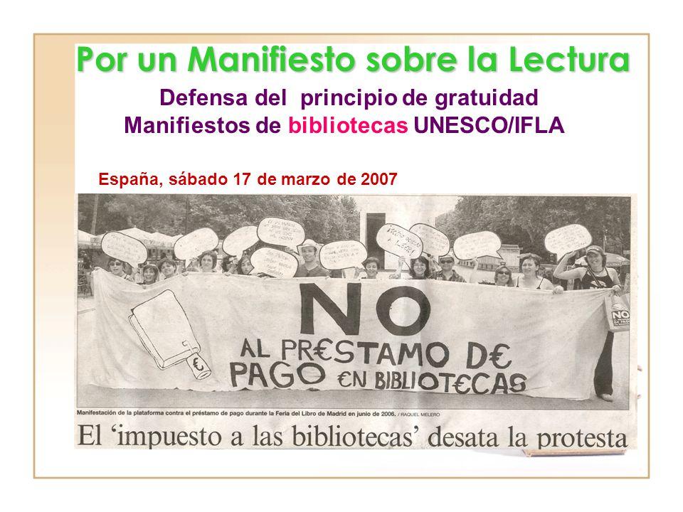 Manifiestos de bibliotecas UNESCO/IFLA