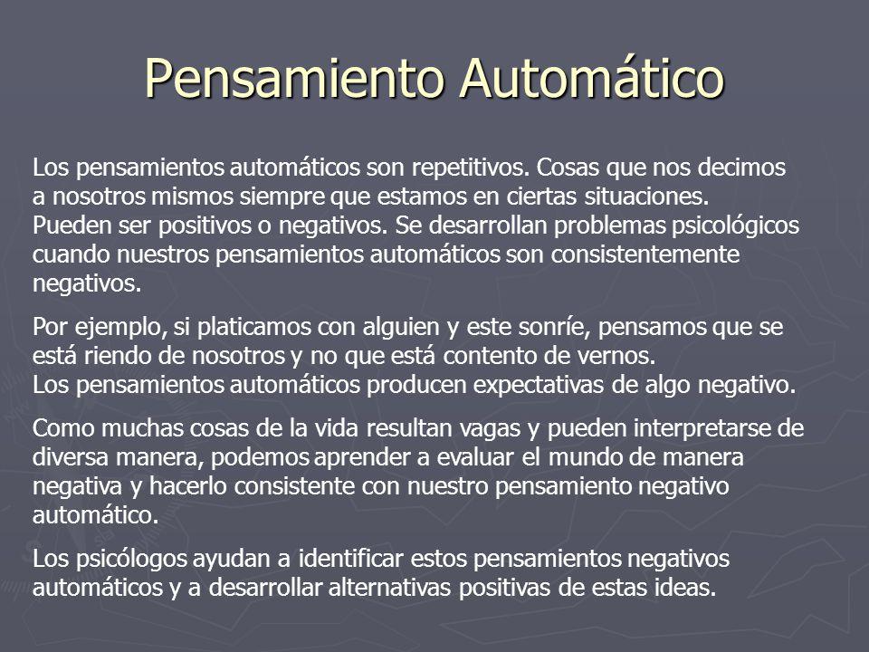 Pensamiento Automático
