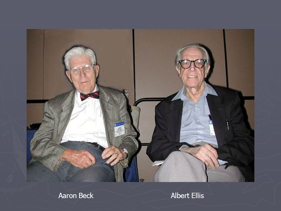 Aaron Beck Albert Ellis