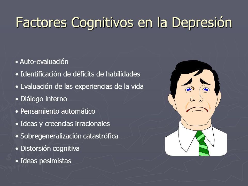 Factores Cognitivos en la Depresión