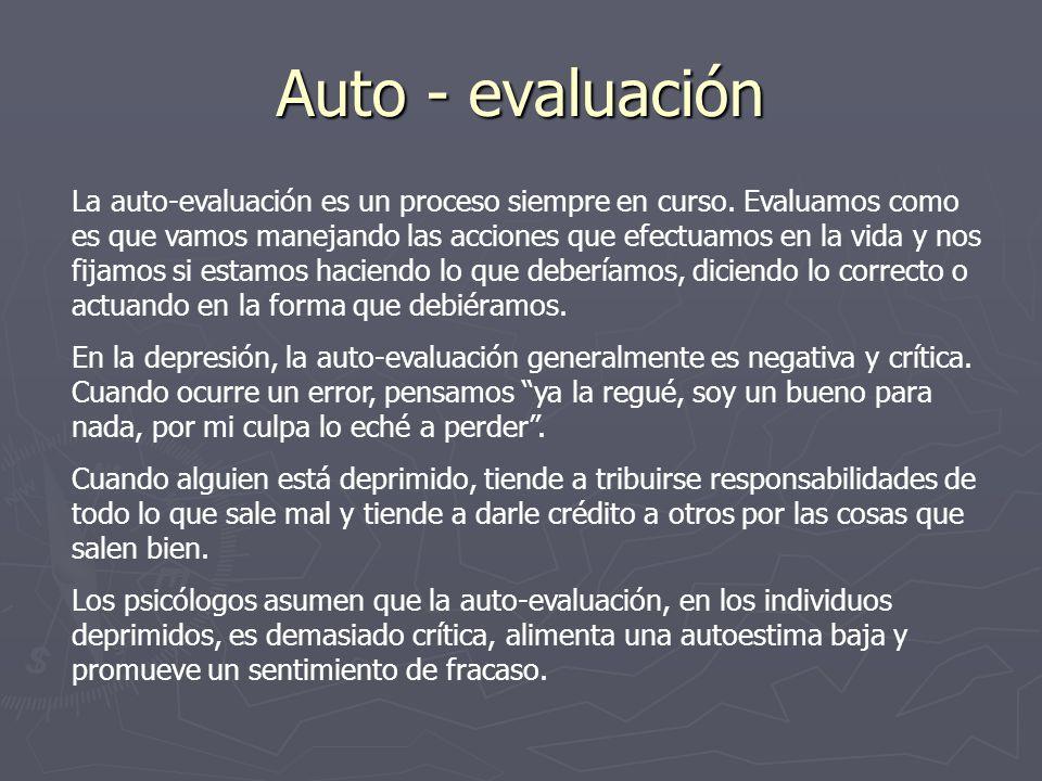 Auto - evaluación
