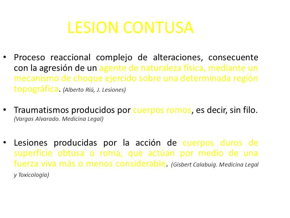 LESION CONTUSA