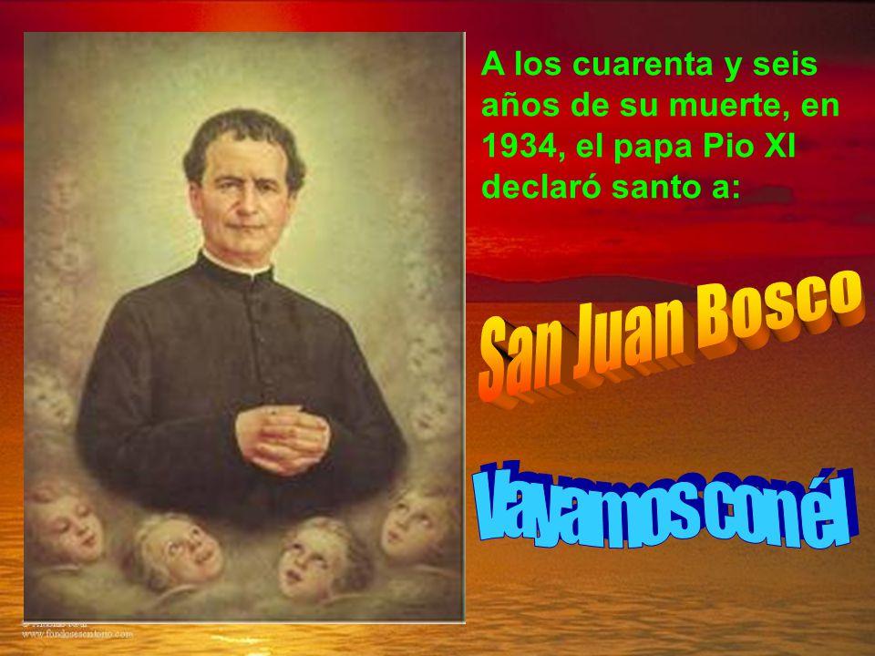 San Juan Bosco Vayamos con él
