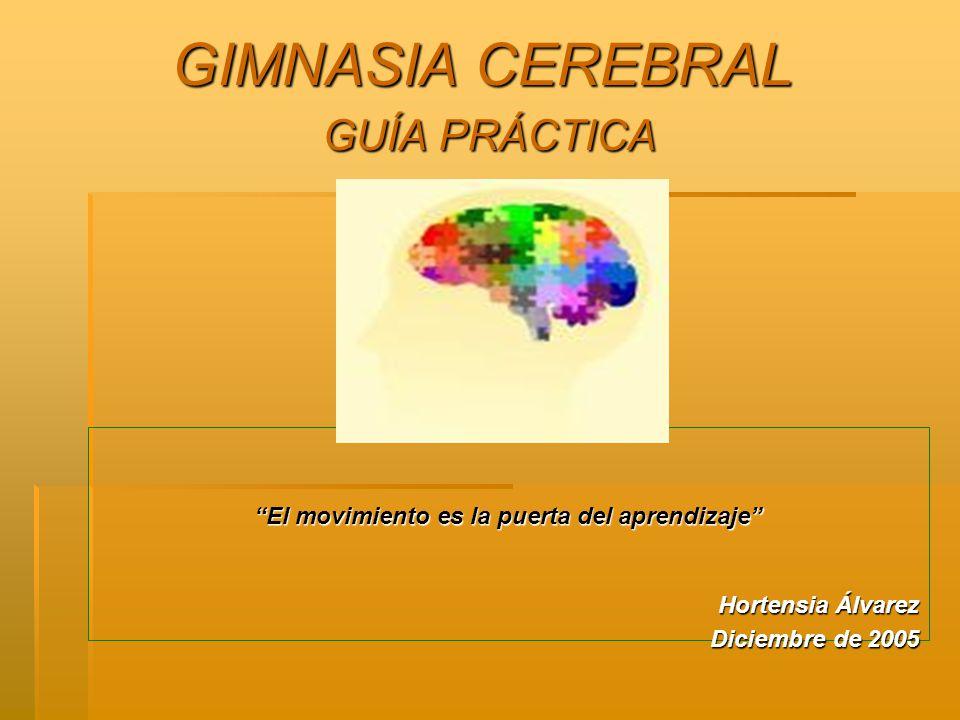 GIMNASIA CEREBRAL GUÍA PRÁCTICA