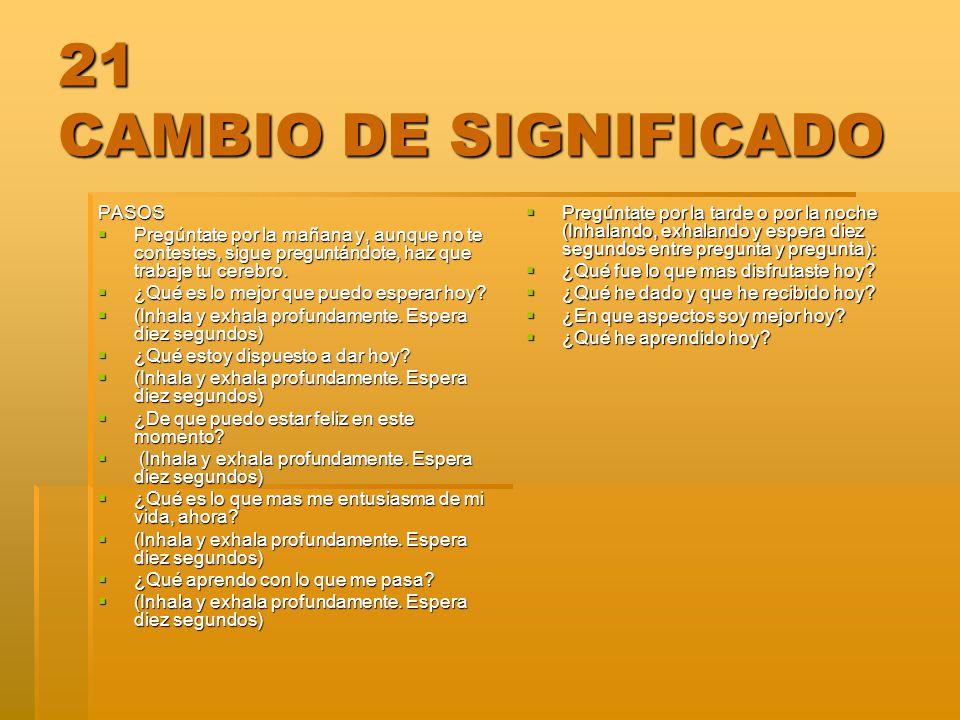 21 CAMBIO DE SIGNIFICADO PASOS