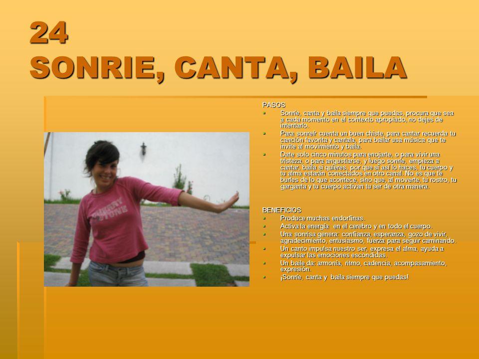 24 SONRIE, CANTA, BAILA PASOS