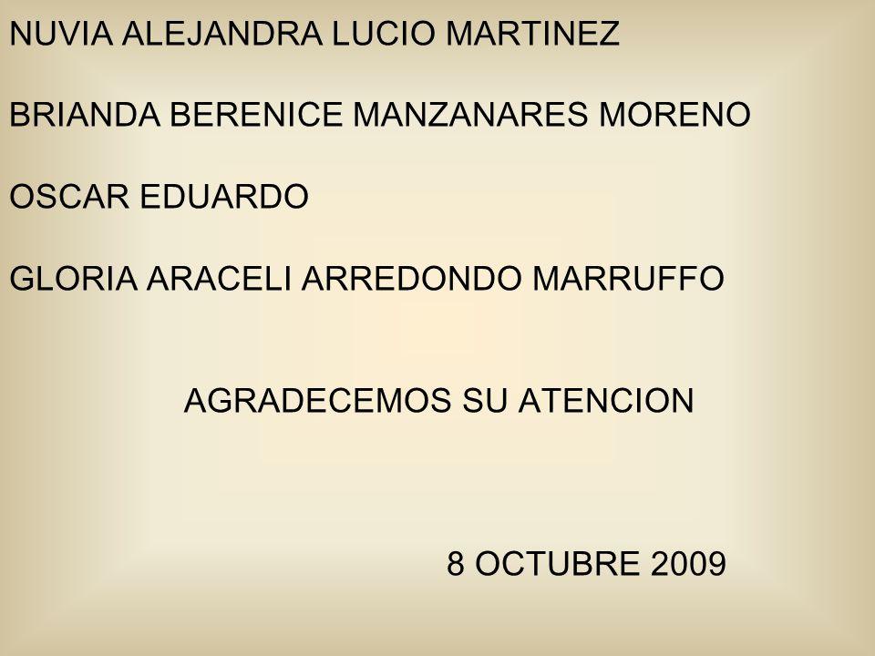 NUVIA ALEJANDRA LUCIO MARTINEZ