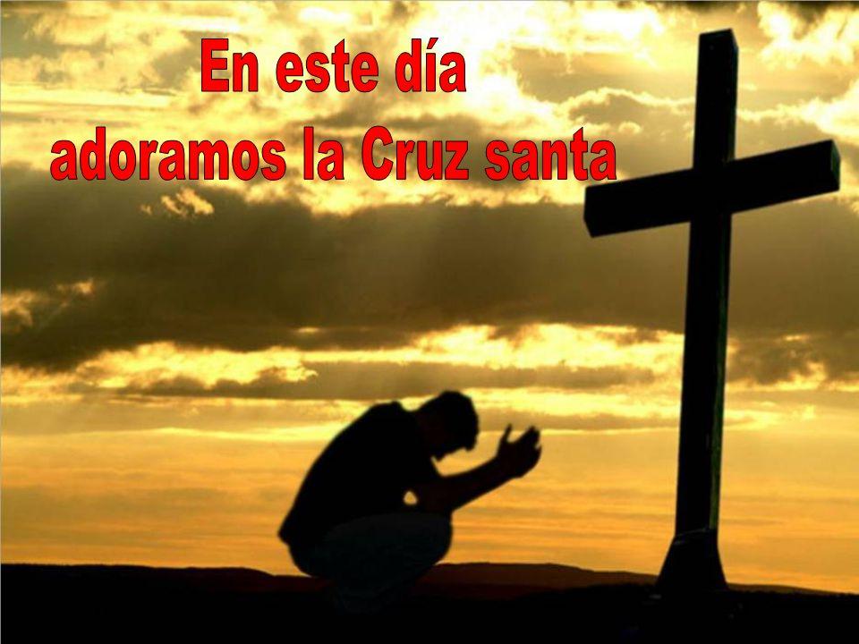 En este día adoramos la Cruz santa