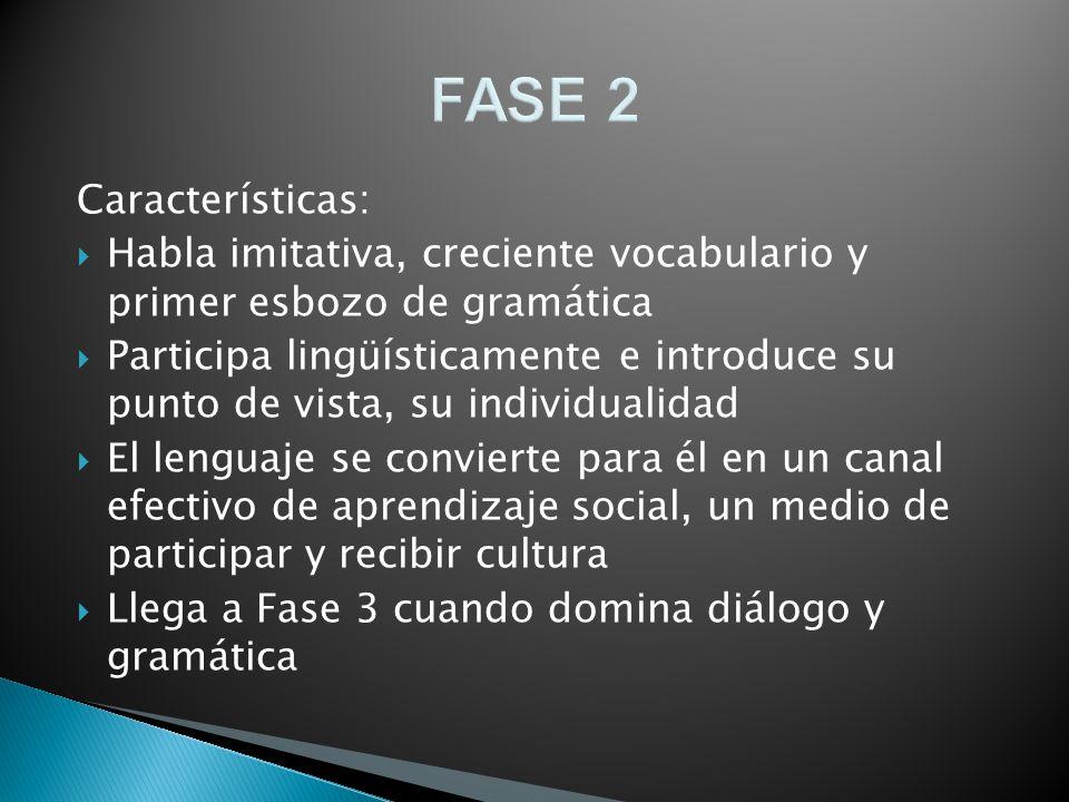 FASE 2 Características: