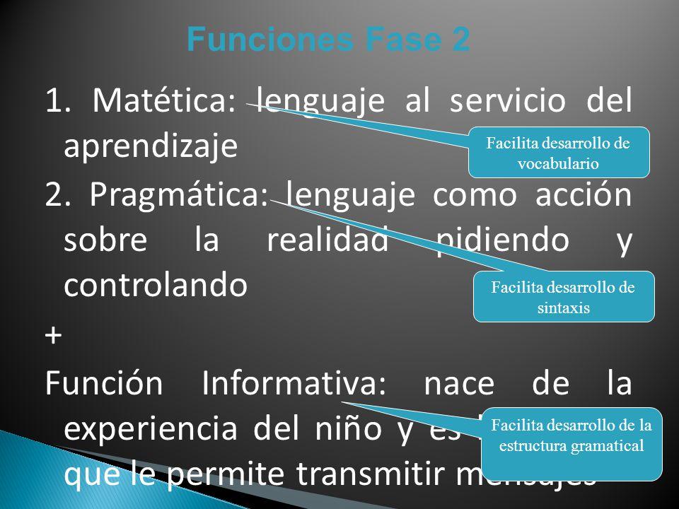 1. Matética: lenguaje al servicio del aprendizaje