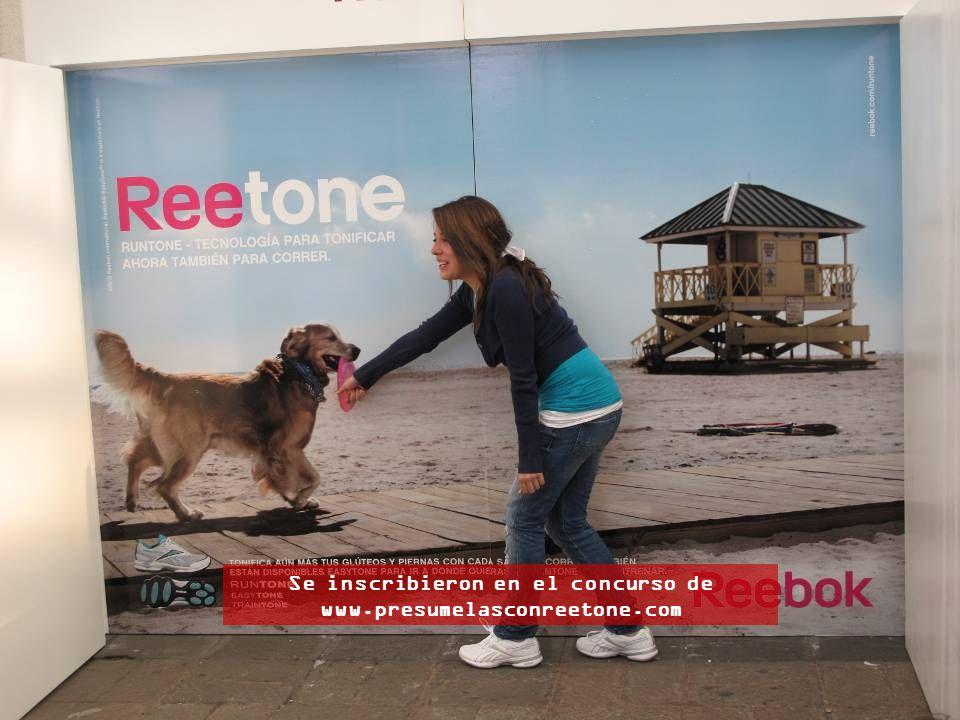 Se inscribieron en el concurso de www.presumelasconreetone.com