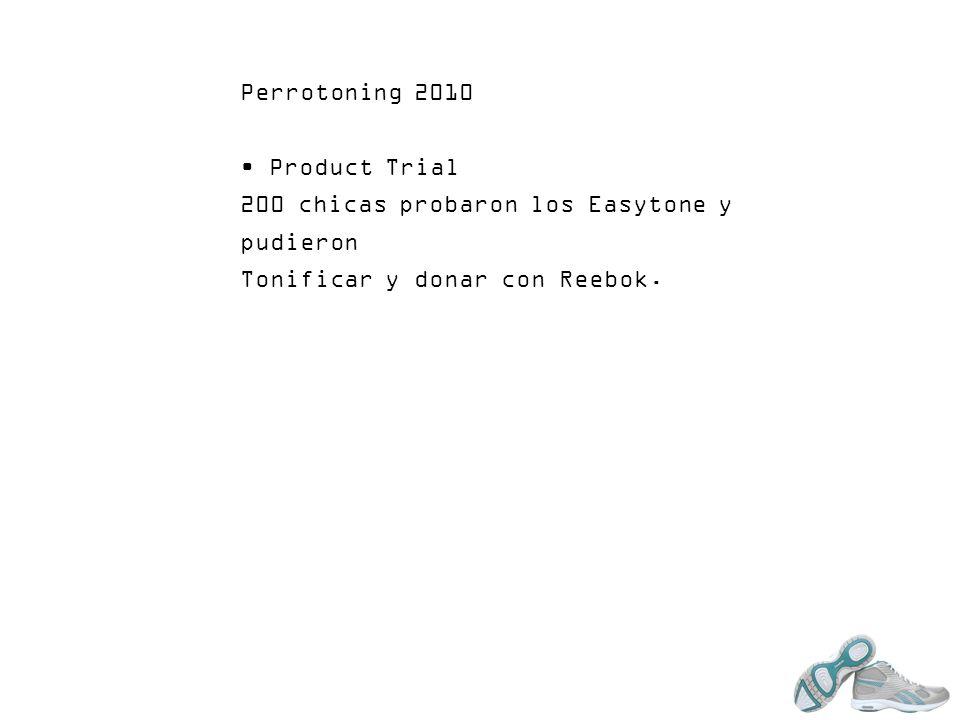 Perrotoning 2010 Product Trial. 200 chicas probaron los Easytone y pudieron.