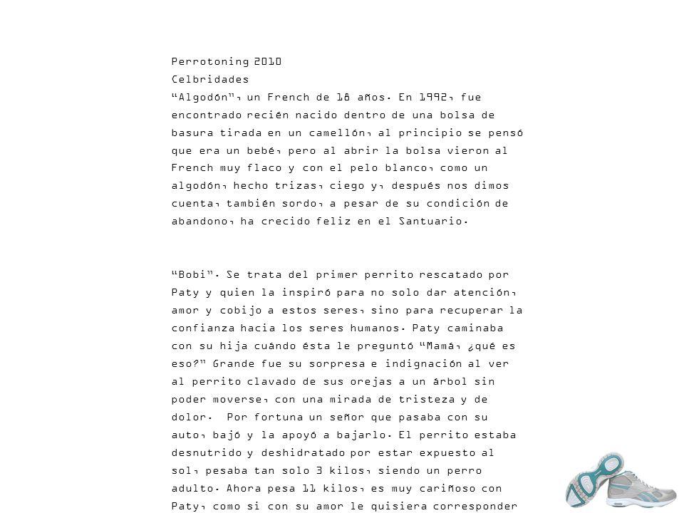 Perrotoning 2010 Celbridades.