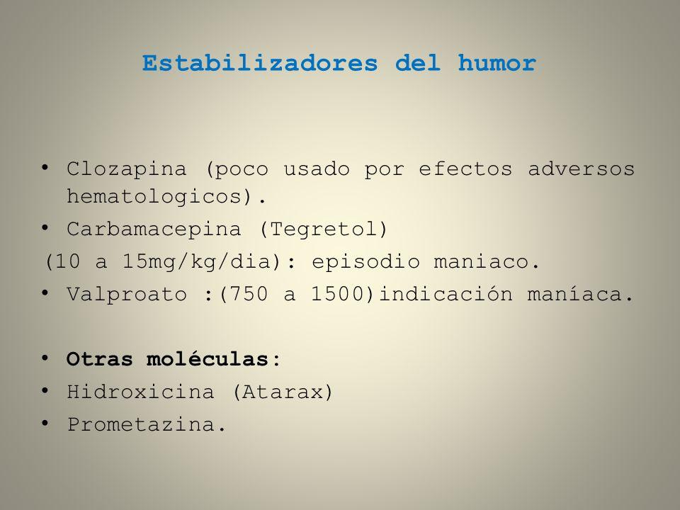 Estabilizadores del humor