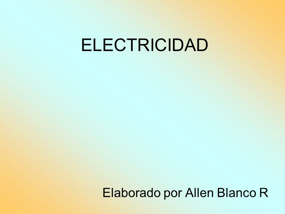 Elaborado por Allen Blanco R