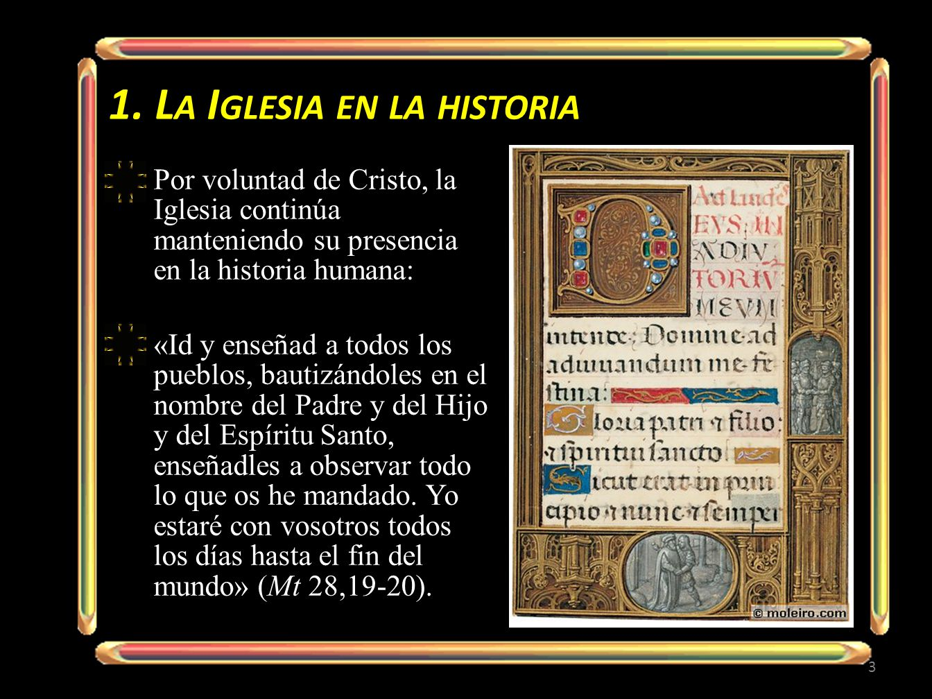 1. La Iglesia en la historia