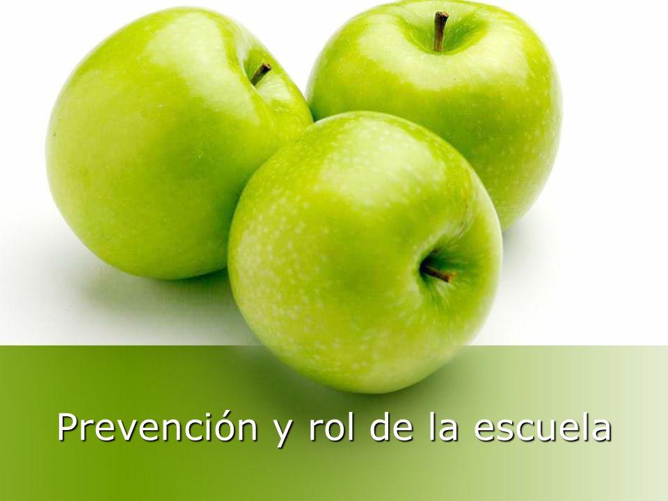 Prevención y rol de la escuela