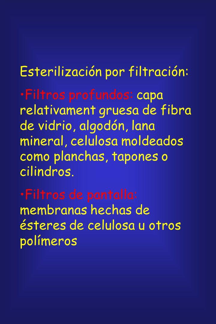 Esterilización por filtración: