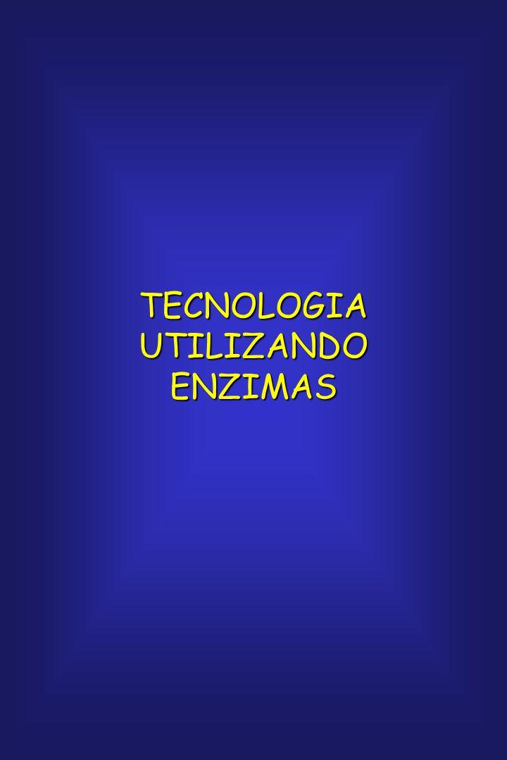 TECNOLOGIA UTILIZANDO ENZIMAS