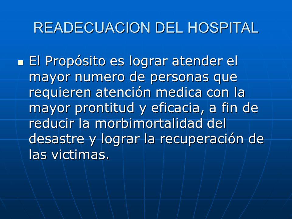 READECUACION DEL HOSPITAL