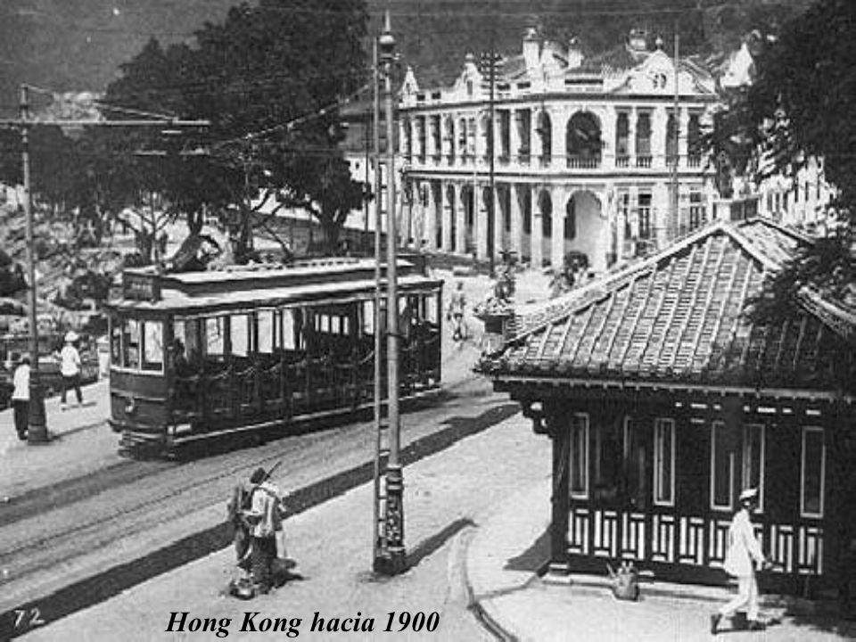 Hong Kong hacia 1900