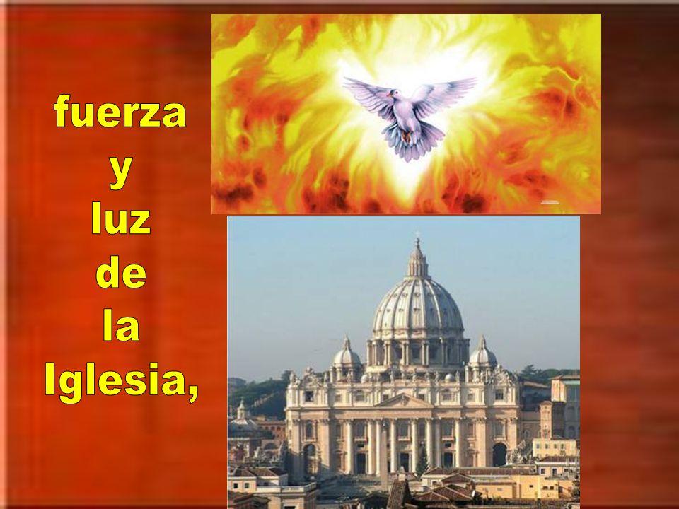 fuerza y luz de la Iglesia,
