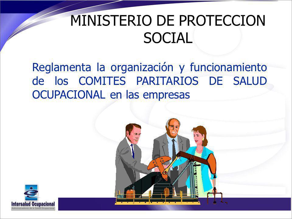 MINISTERIO DE PROTECCION SOCIAL
