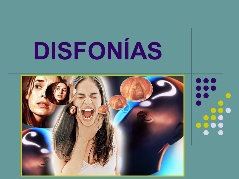DISFONÍAS