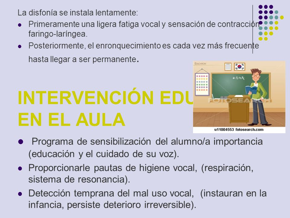 INTERVENCIÓN EDUCATIVA EN EL AULA