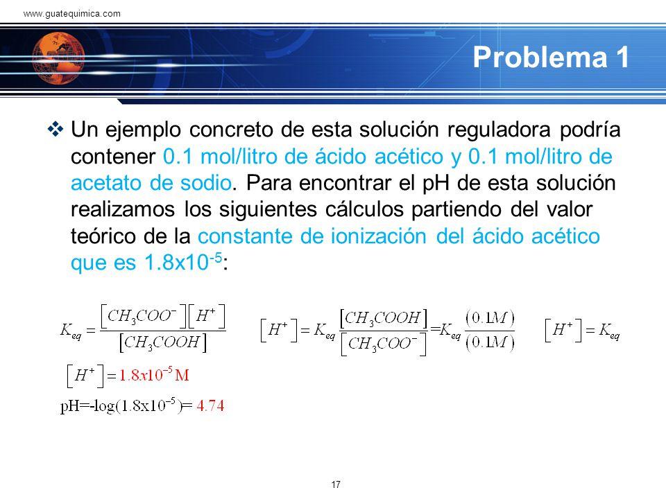 www.guatequimica.com Problema 1.