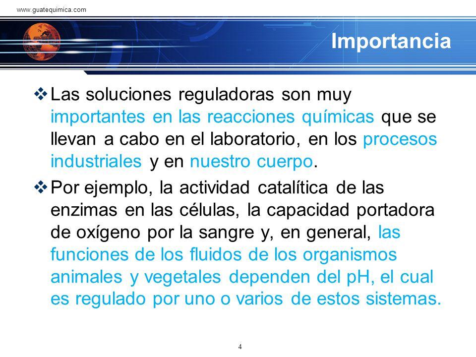 www.guatequimica.com Importancia.