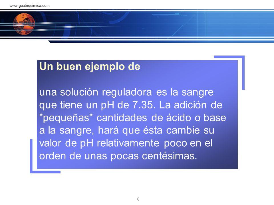 www.guatequimica.com Un buen ejemplo de.