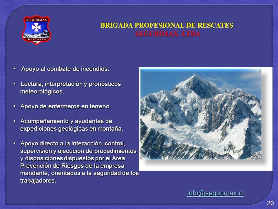 BRIGADA PROFESIONAL DE RESCATES