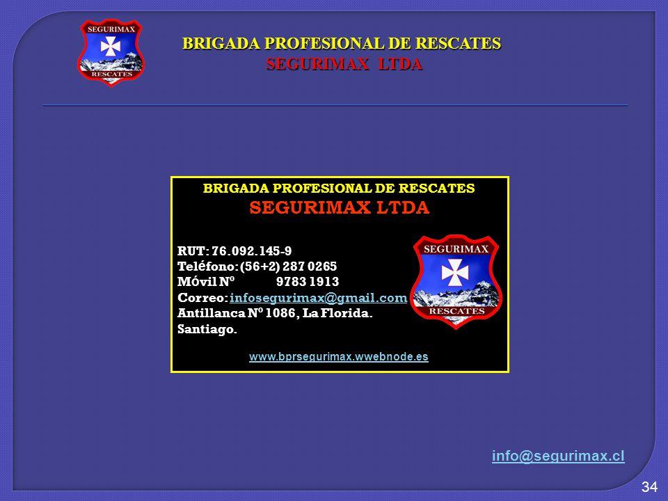 BRIGADA PROFESIONAL DE RESCATES BRIGADA PROFESIONAL DE RESCATES