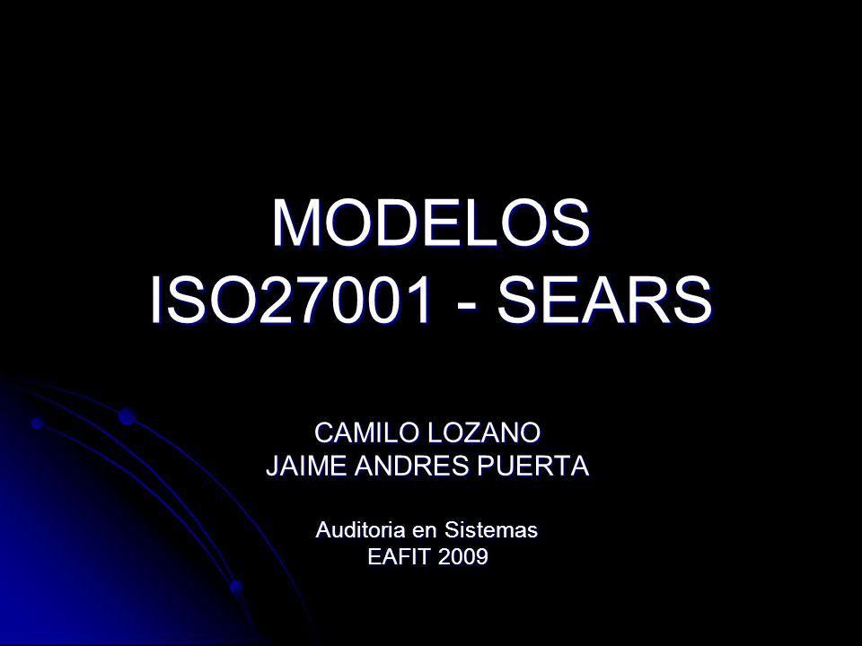 CAMILO LOZANO JAIME ANDRES PUERTA Auditoria en Sistemas EAFIT 2009