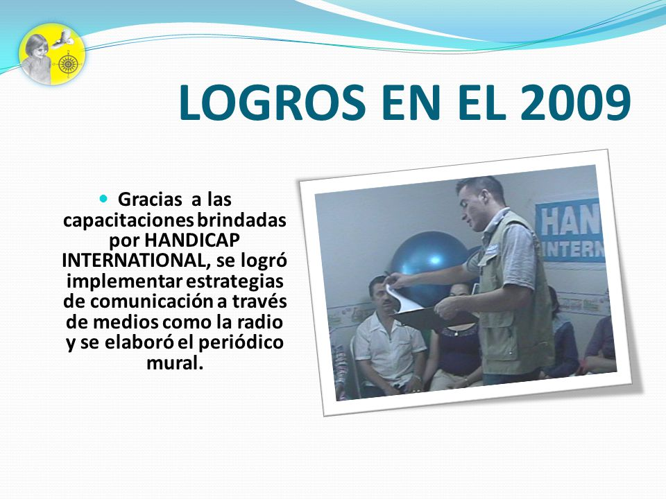 LOGROS EN EL 2009