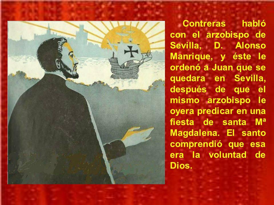 Contreras habló con el arzobispo de Sevilla, D
