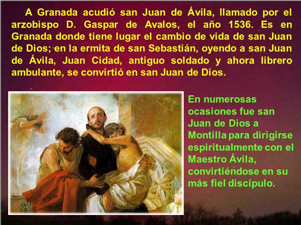 A Granada acudió san Juan de Ávila, llamado por el arzobispo D