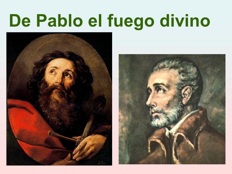 De Pablo el fuego divino