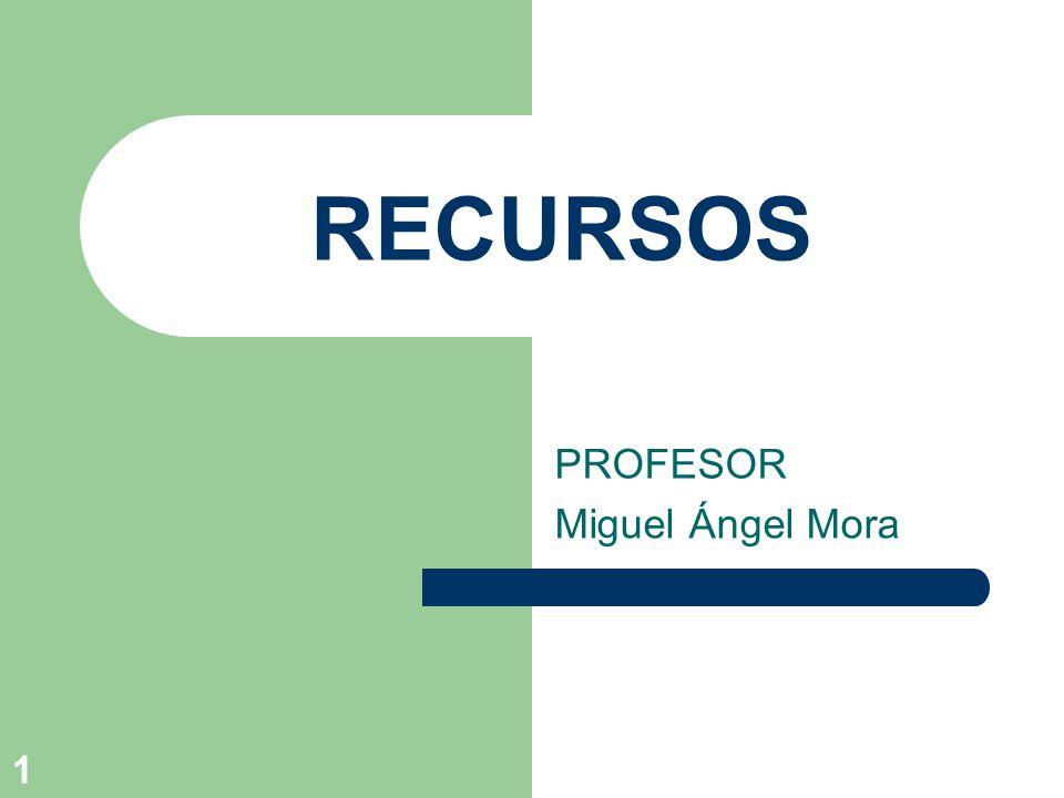 PROFESOR Miguel Ángel Mora