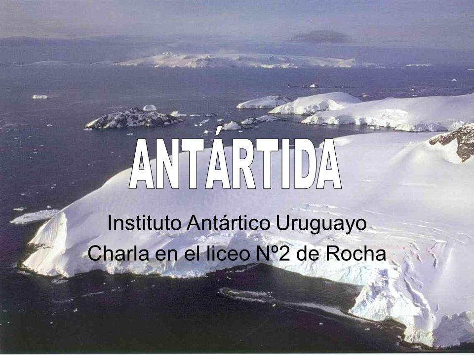 Instituto Antártico Uruguayo Charla en el liceo Nº2 de Rocha