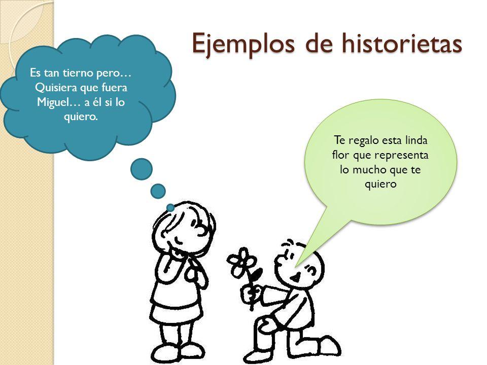 Ejemplos de historietas