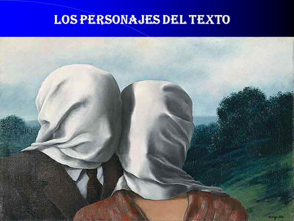 LOS PERSONAJES DEL TEXTO